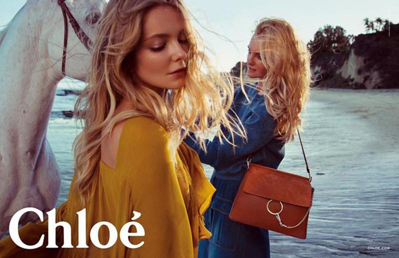 Kampania Chloé na sezon wiosna/lato 2015 inspirowana stylem boho chic