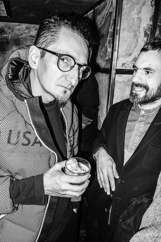 Michał Łojewski-UEG i Sharif Laffrey/fot. Tomek Makolski