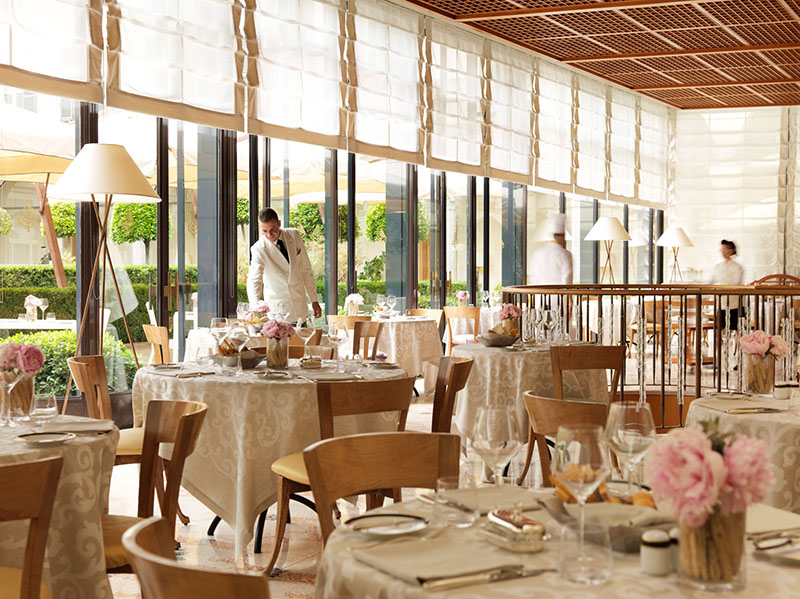 Restauracja w hotelu Four Seasons/mat.prasowe Four Seasons Milano