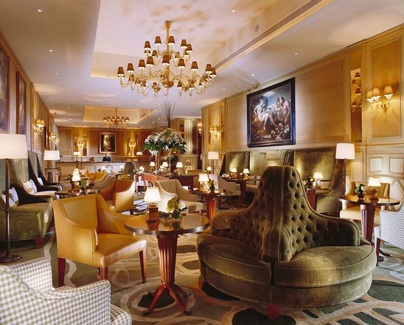 Lobby w hotelu Principe di Savoia/mat.prasowe Principe di Savoia Hotel