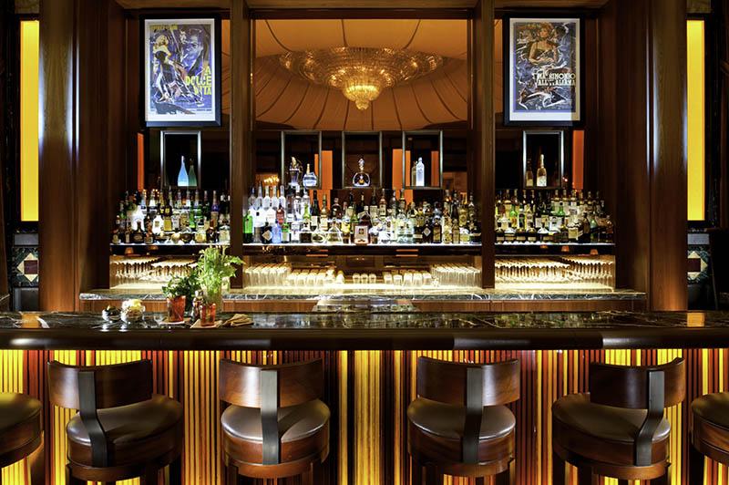 Bar w hotelu Principe di Savoia/mat.prasowe Principe di Savoia Hotel
