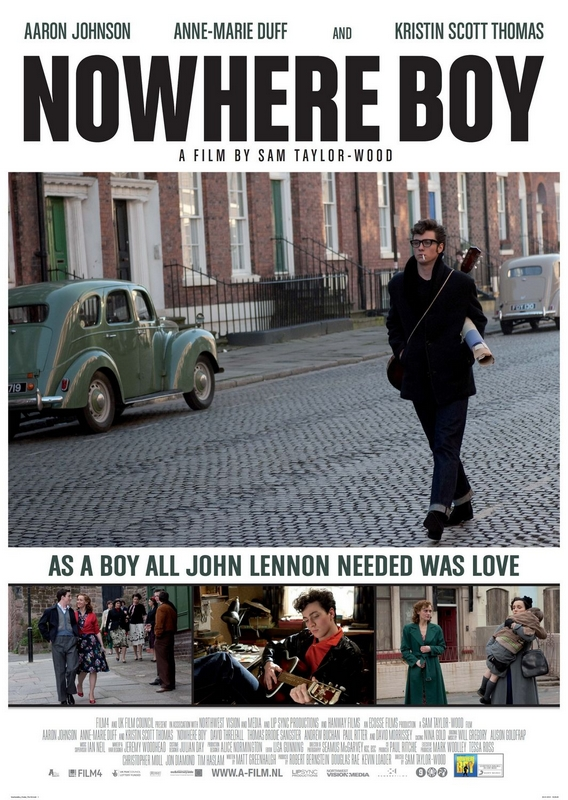 Okładka filmu Nowhere Boy