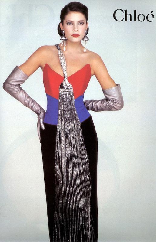 Kampania  Chloé  z 1983 roku