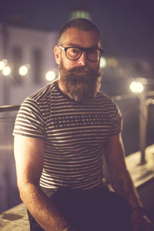 Wojtek Rostowski, właściciel Rostowski Barber Shop/fot. Agnieszka Taukert dla DYKF