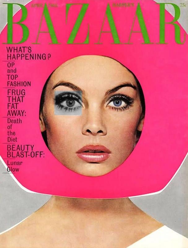 Harper's Bazaar kwiecień 1965r./fot. Richard Avedon