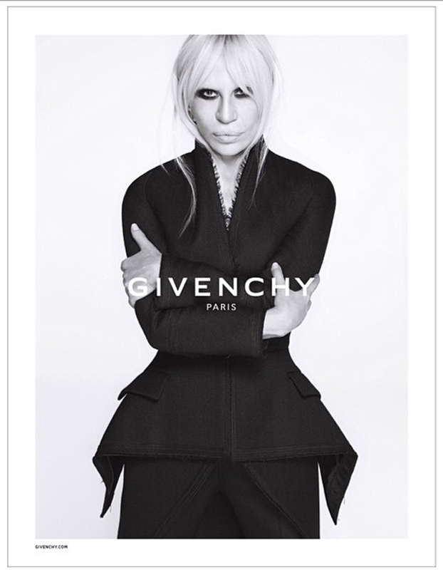 Donatella Versace/Instagram: @versace_official