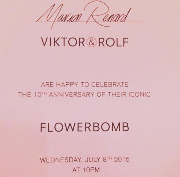 Oficjalne zaproszenie na party/Instagram: @marionlofficielparis