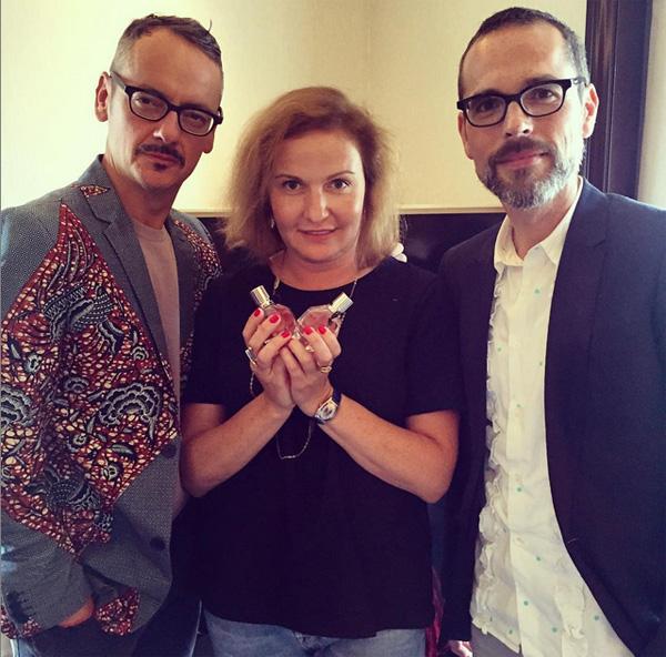 Viktor&Rolf z Marią Taranenko/Instagram: @maria_taranenko_elle_russia