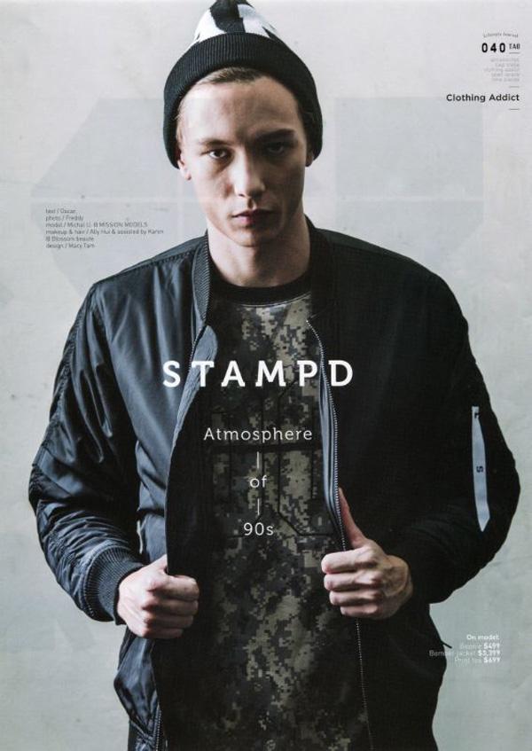 Michał Jurasz dla marki Stampd