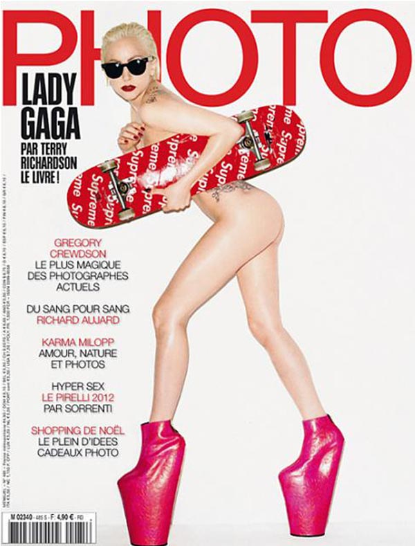 Lady Gaga na okładce magazynu Photo