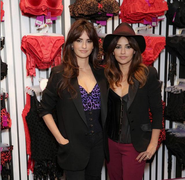 Penelope i Monica Cruz w nowo otwartym sklepie w Londynie/Instagram: @lagentbyap