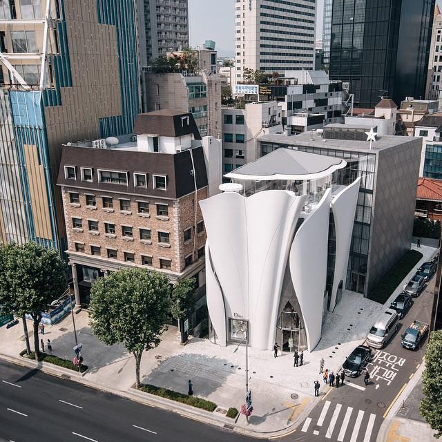 Butik Diora w Seulu/Instagram: @dior