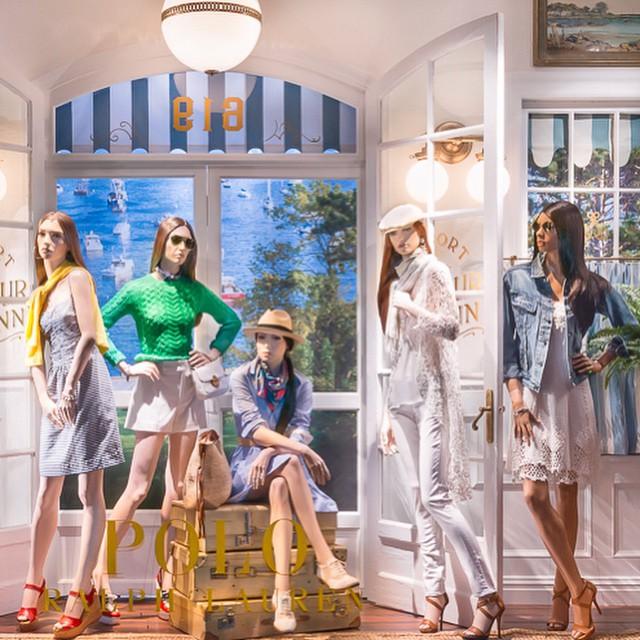 Butik Polo Ralph Lauren 5th avenue - New York/Instagram: @ralphlauren