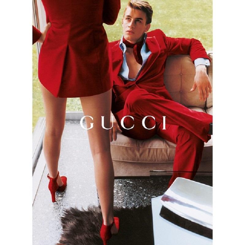 Gucci jesień/zima 1996/fot. Mario Testino