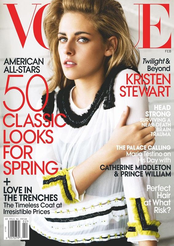 Vogue US luty 2011/fot. Mario Testino