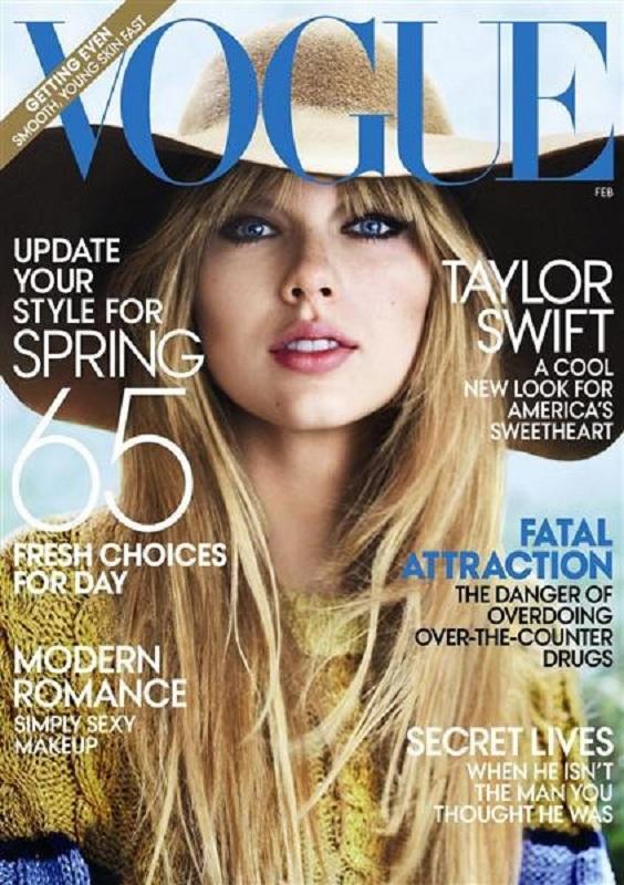 Vogue US luty 2012/fot. Mario Testino
