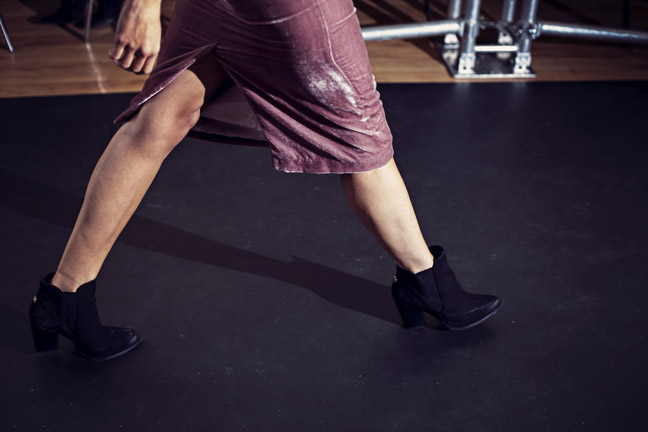 Dopełnieniem stylizacji były buty marki Kazar/fot. Agnieszka Taukert dla DYKF