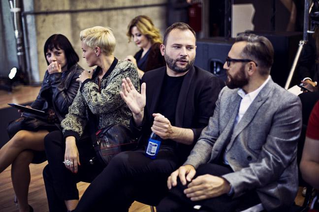 Ilona Felicjańska, Michał Zaczyński i Dariusz Zieliński/fot. Agnieszka Taukert dla DYKF