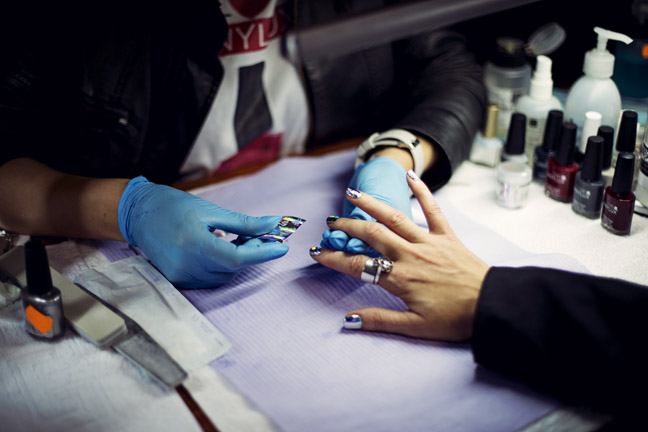 Stylizacja paznokci - Ekert Nails/fot. Agnieszka Taukert dla DYKF