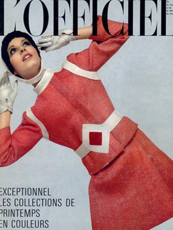 Okładka magazynu L'Officiel, Marzec 1969 rok