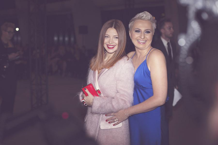 Ada Fijał i Sylwia Olech, vice naczelna Flesz i Party/fot. Agnieszka Taukert dla DYKF