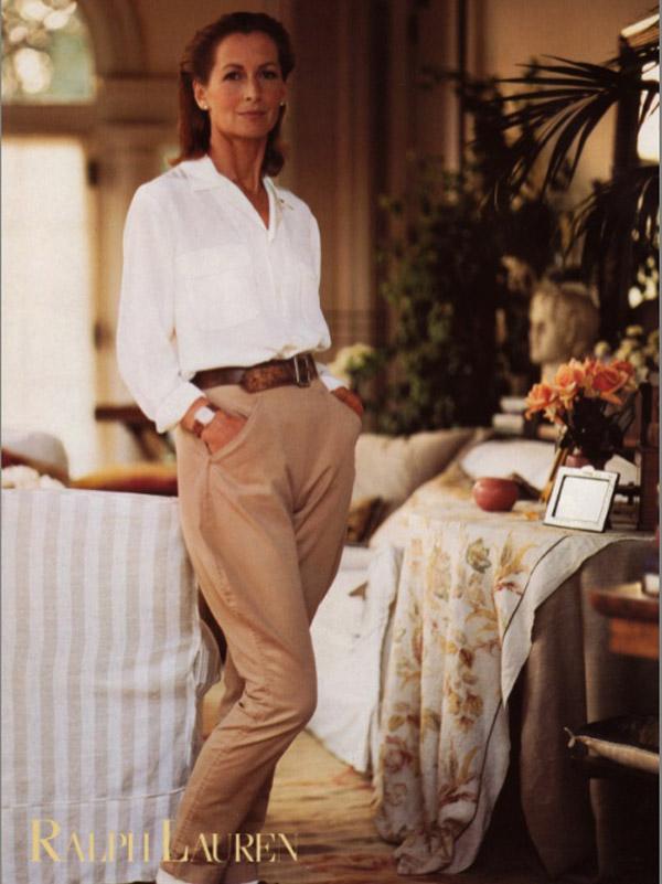 Kampania reklamowa Ralph Lauren 1980 rok