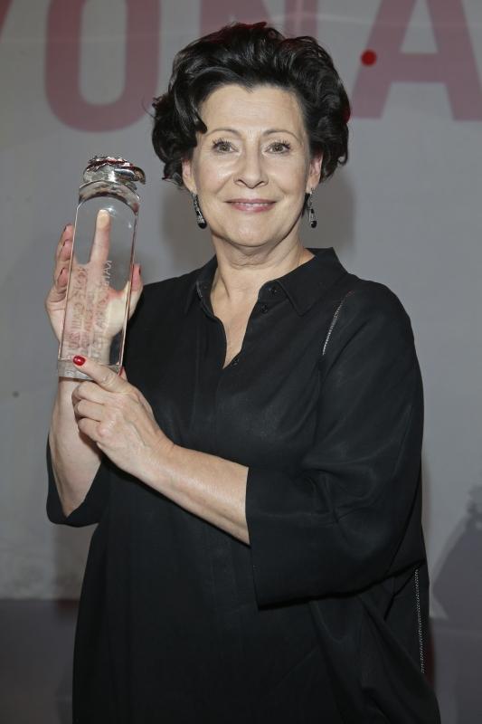 Dorota Kolak (nagroda w kategorii teatr)/fot. AKPA