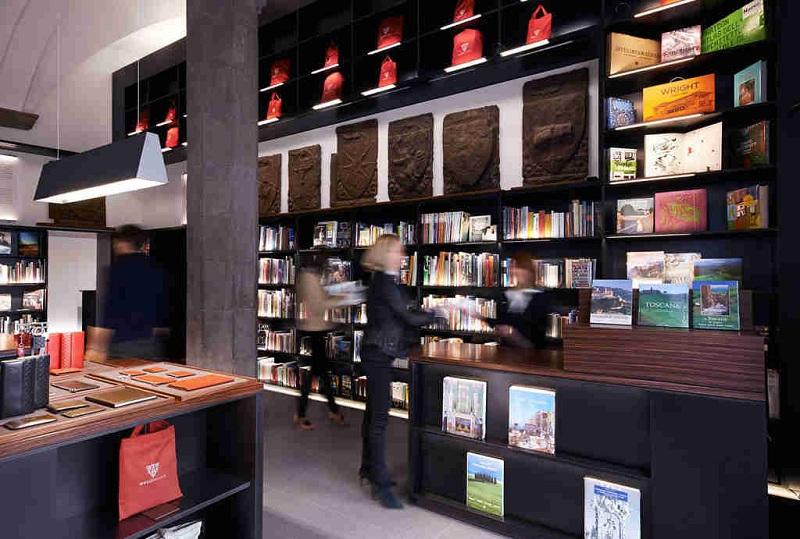 Księgarnia w Muzeum Gucci/fot. Muzeum Gucci