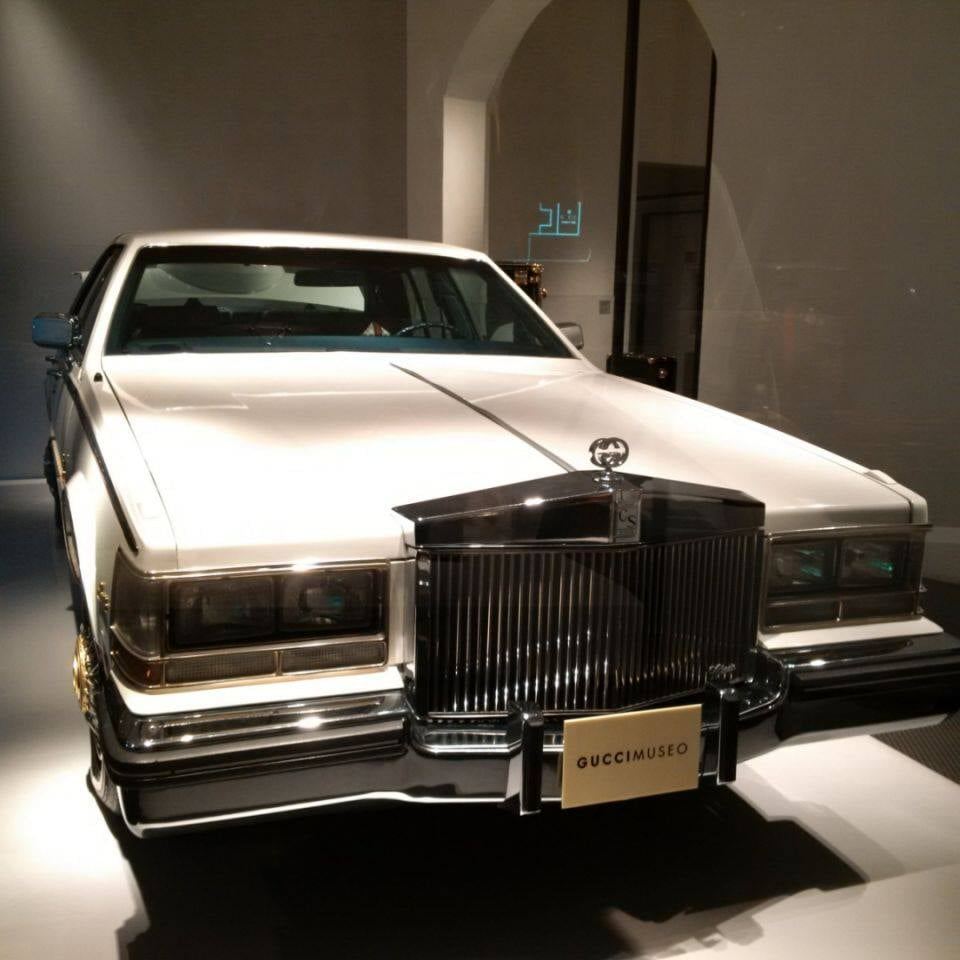 Cadillac Gucci z lat 70-tych