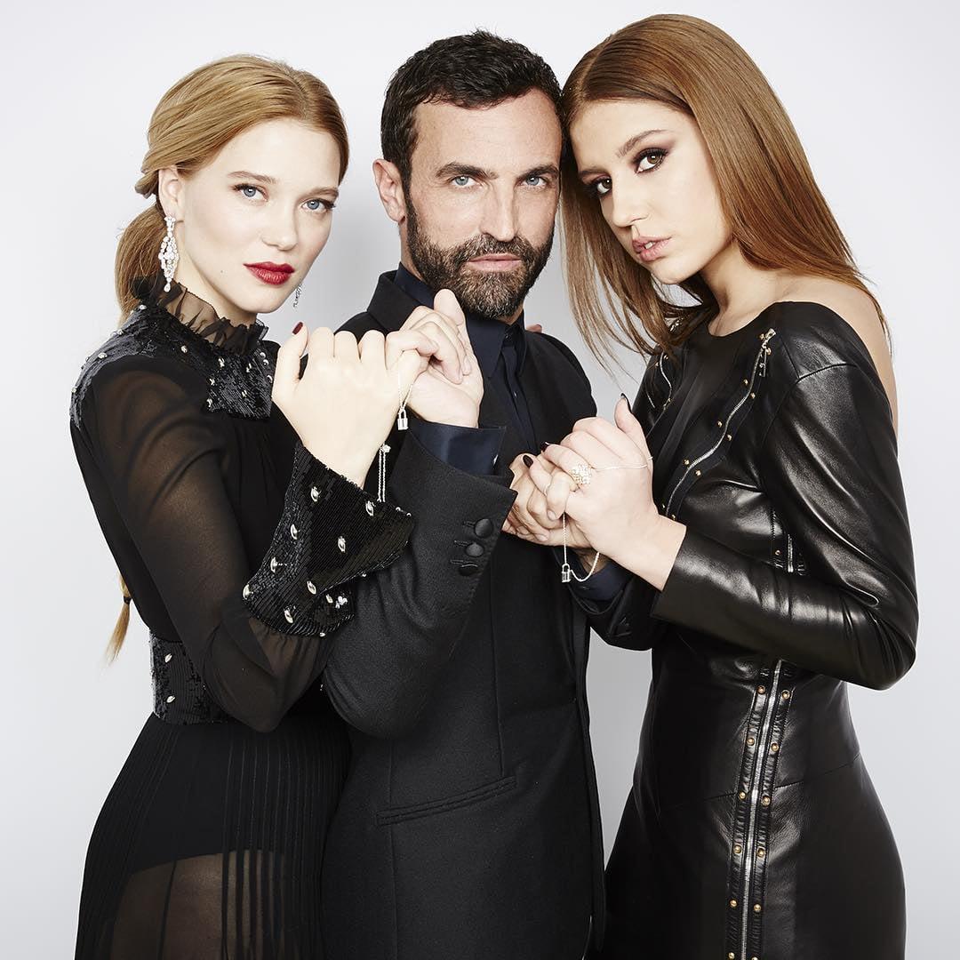 Lea Seydoux, Nicolas Ghesquiere i Adele Exarchopoulos/Instagram: @louisvuitton
