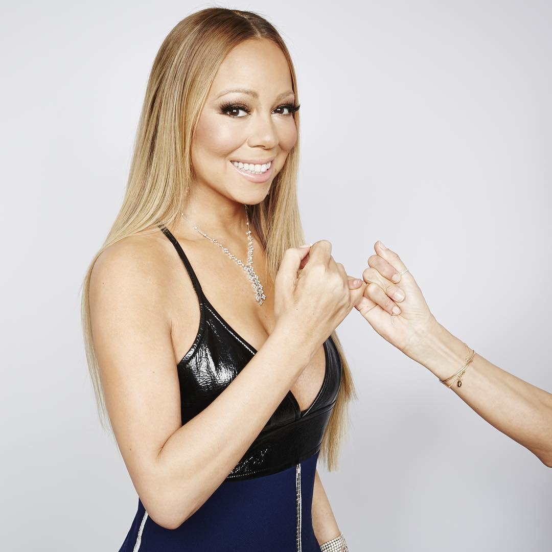 Mariah Carey/Instagram: @louisvuitton