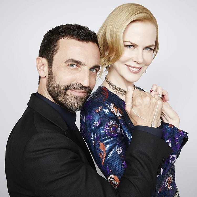 Nicolas Ghesquiere i Nicole Kidman/Instagram: @louisvuitton