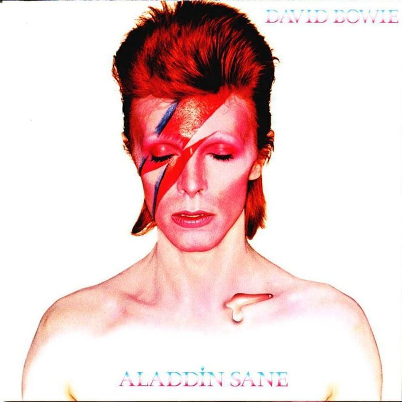 Davi Bowie okładka płyty Aladdin Sane
