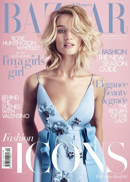 Harper's Bazaar UK wrzesień 2015