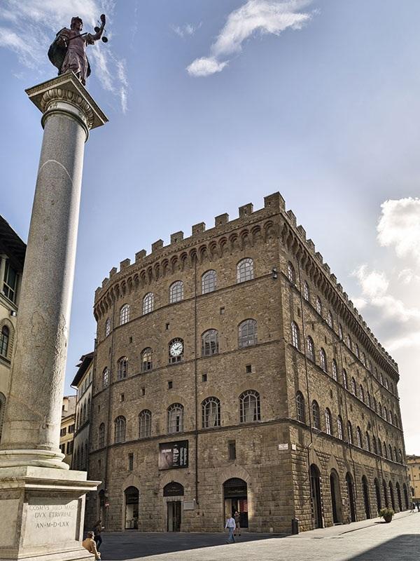 Palazzo Spini Feroni we Florencji/fot. Muzeum Salvatore Ferragamo