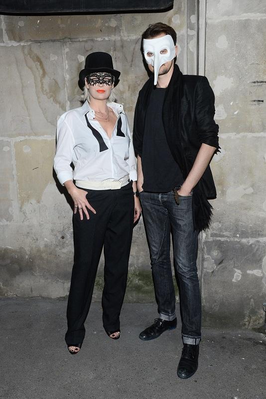 Anna Puślecka, red. nacz. DYKF i Bartek Kraciuk, współwłaściciel Weles Bar/fot. MW Media