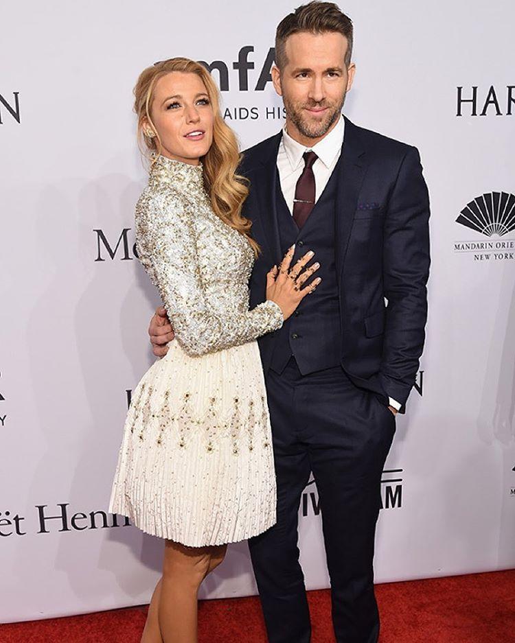 Blake Lively i Ryan Reynolds/Instagram: @buro247ru