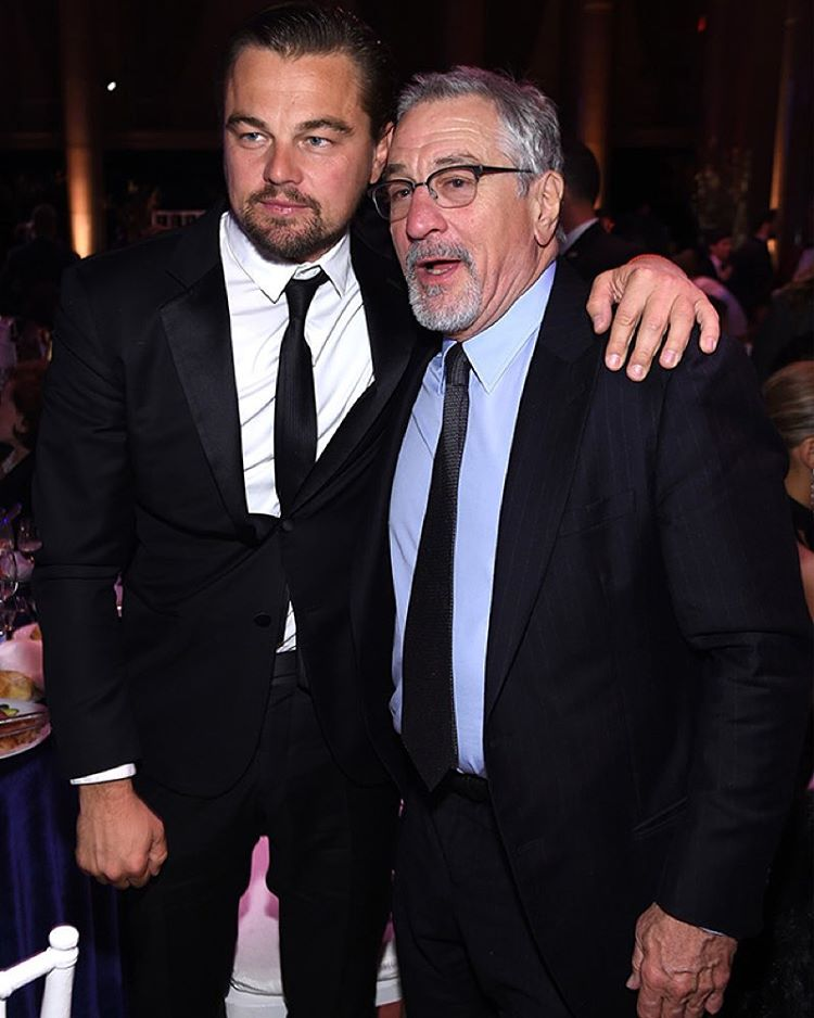 Leonardo DiCaprio i Robert De Niro/Instagram: @buro247ru