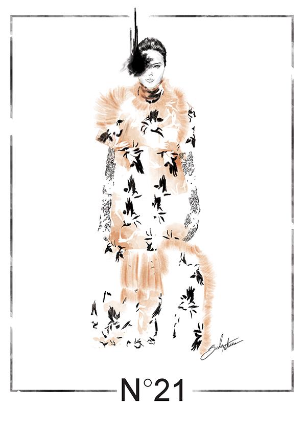 Ilustracja inspirowana projektami Nº21/Instagram @mateuszsuda