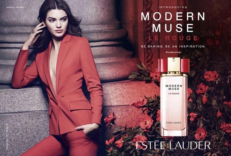 Kampania zapachu Modern Muse od Estee Lauder, 2015 rok