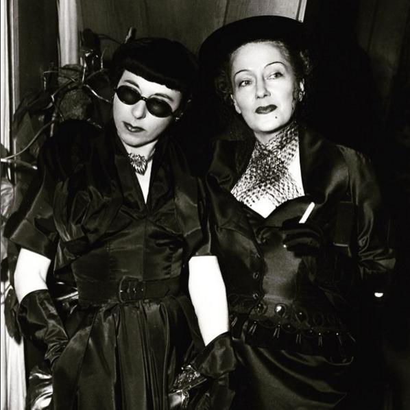Edith Head i Gloria Swanson/Instagram @soyun_cd