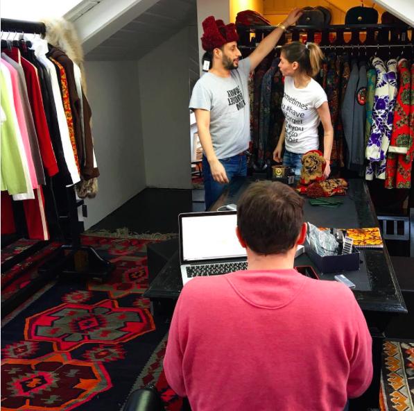 Denis Simachev Shop&Bar/fot. Instagram @shop_bar_ds