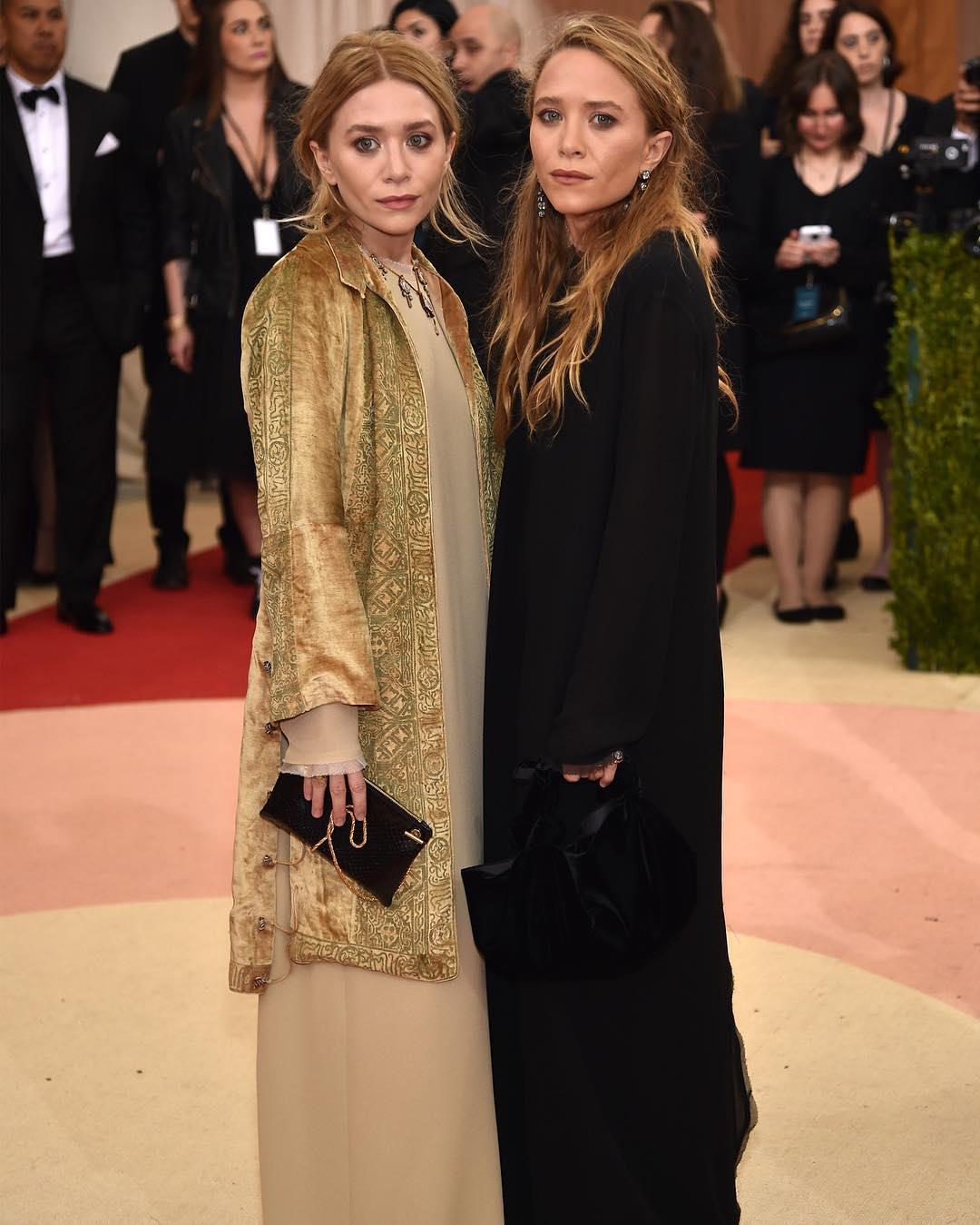 Ashley Olsen i Mary-Kate Olsen/Instagram: @buro247ru