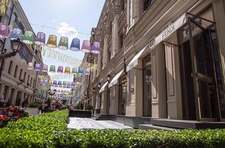 Nowy, flagowy butik Fendi w Moskwie/Instagram: @fendi