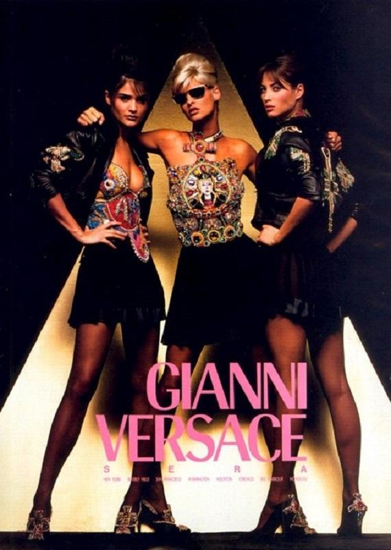 Kampania Gianni Versace z 1991 roku