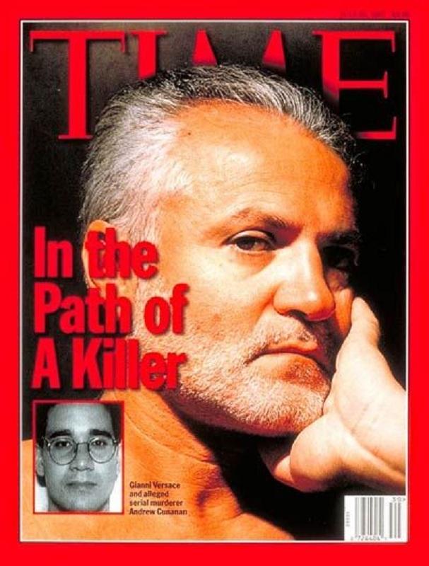 Gianni Versace na okładce magazynu Time