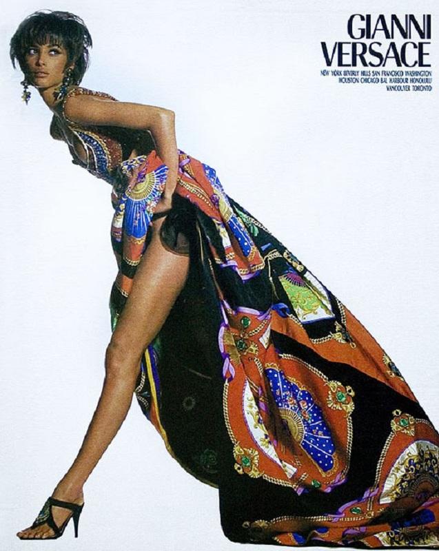 Gianni Versace wiosna-lato 1991