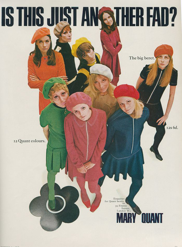 Mary Quant reklama z 1967 roku