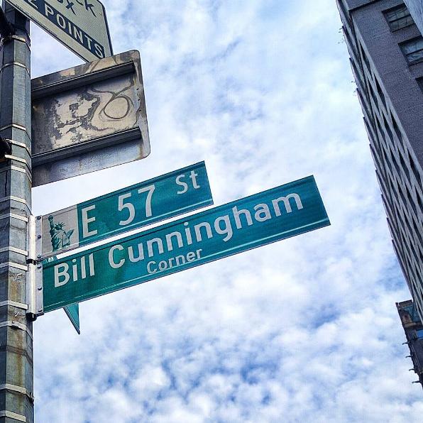 Bill Cunningham Corner/Instagram @princessleiawithac