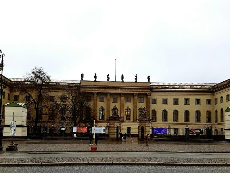 Uniwersytet Humboldtów (za czasów Simmla Friedrich-Wilhelms-Universität)/fot. Natalia Wąsik